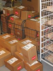 Shiped boxes