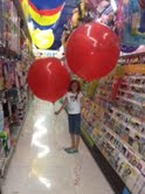 Abby red balloon